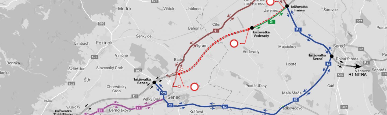 Ǔsek diaľnice D1 pri Blatnom bude ÚPLNE uzavretý!